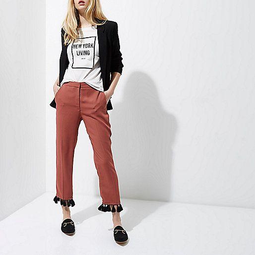 Hem it Up! Fall For Trending Tassel Trousers