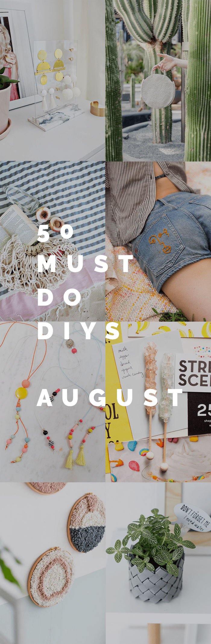 50 Must Do DIY's August
