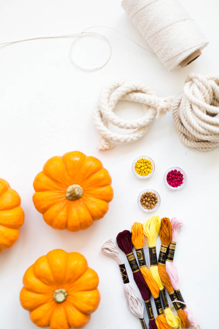 DIY Pumpkin Top Tassels
