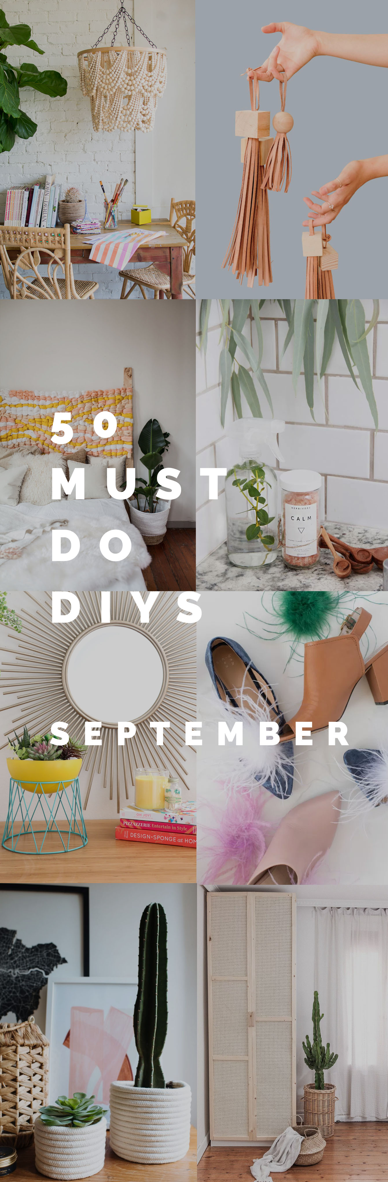 50 Must do DIYs September