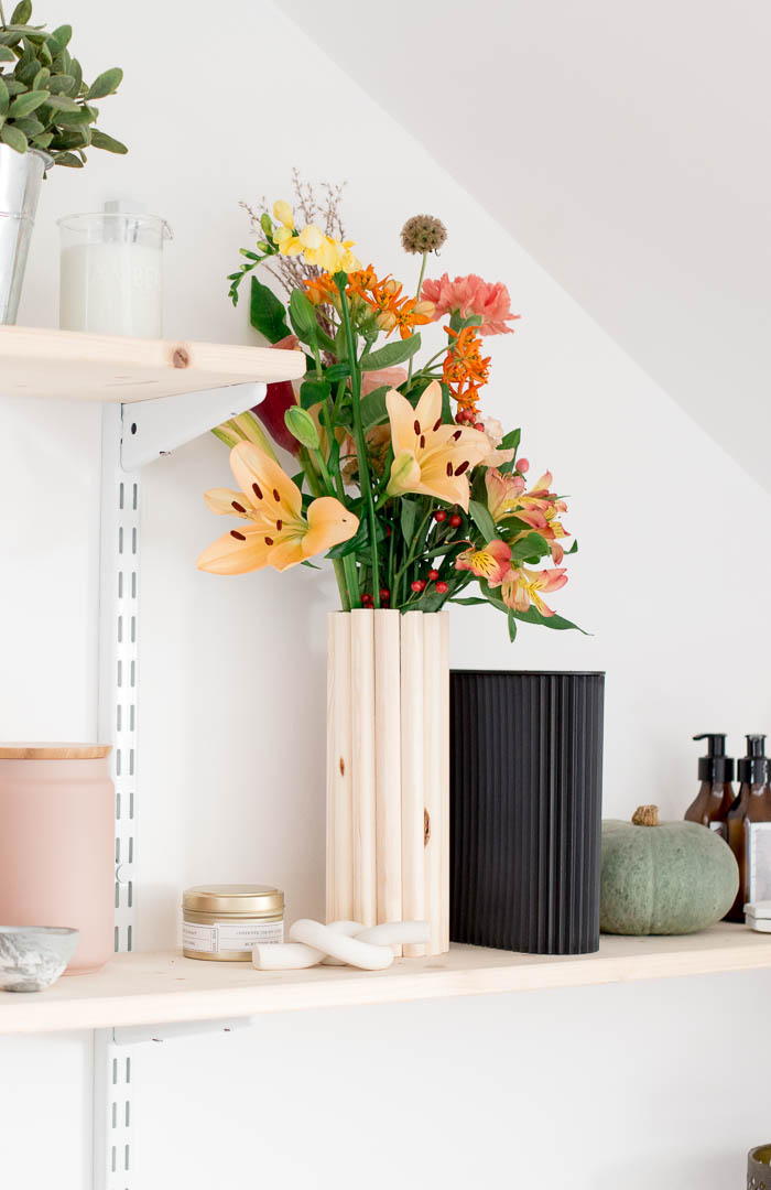 DIY Wooden Vase | @fallfordiy