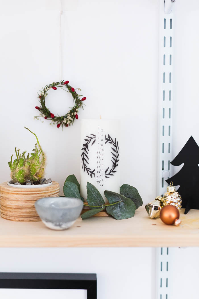 DIY Advent Candle | @fallfordiy