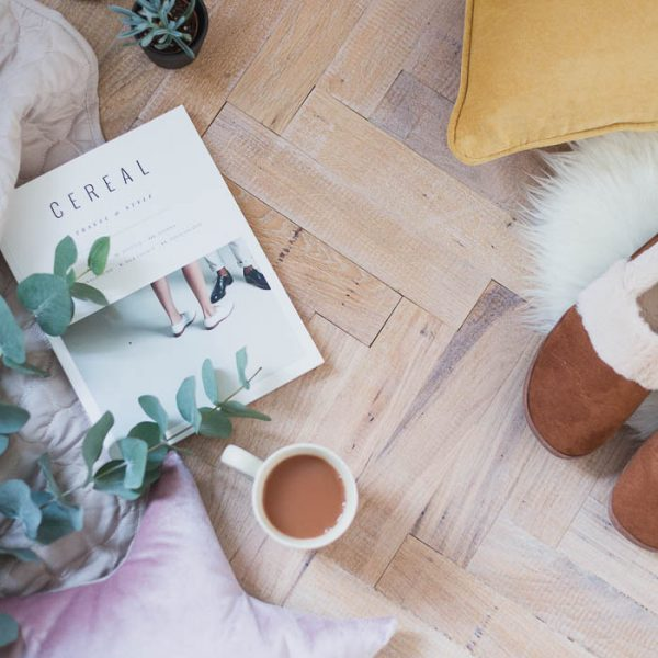 How I Laid Parquet Flooring in our Bedroom