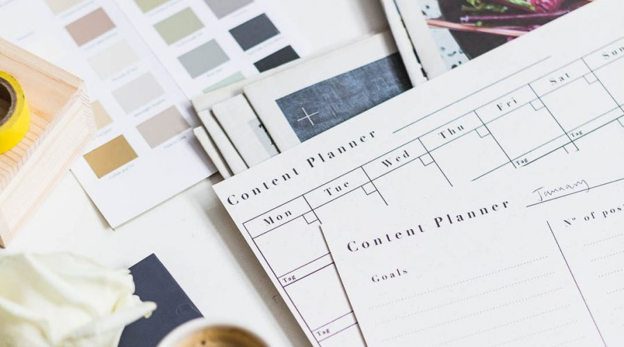 FREE Printable Content Planners | @fallfordiy