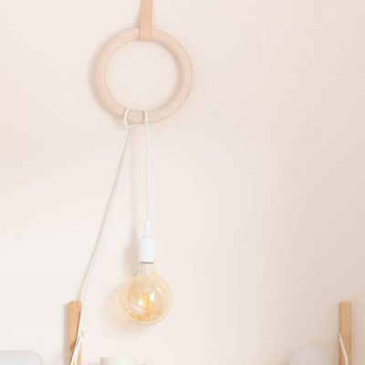 DIY Gym Ring Hanging Pendant Lamp