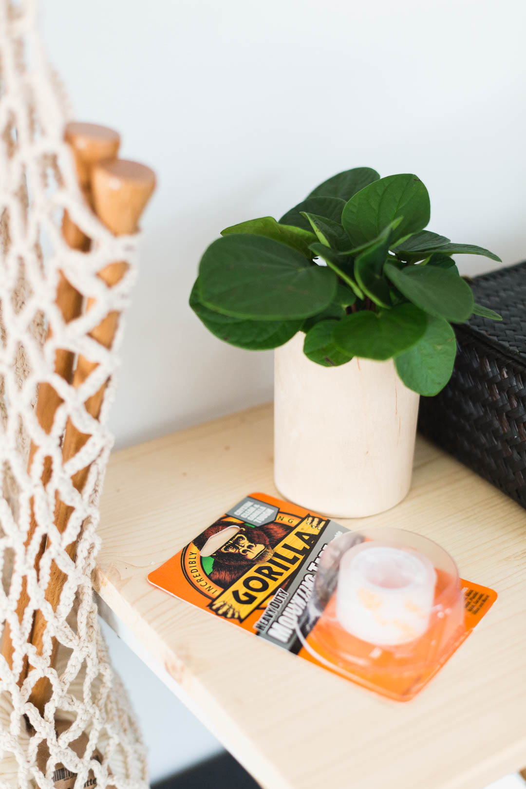DIY Plywood Wrap Planters Made Easy with Gorilla Glue Mounting Tape