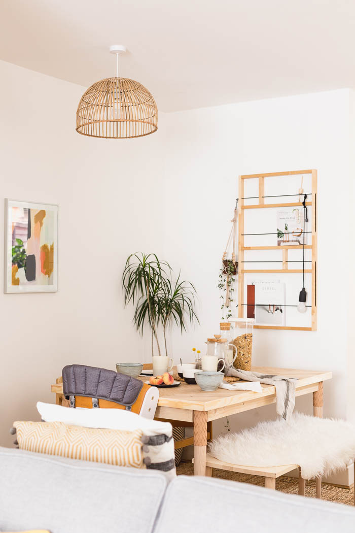 DIY Parquet table with Prettypeg Legs
