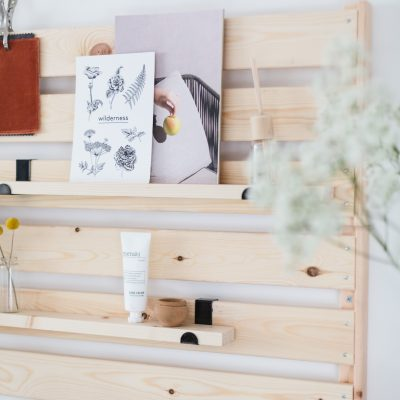 DIY Minimal Shelving IKEA Hack