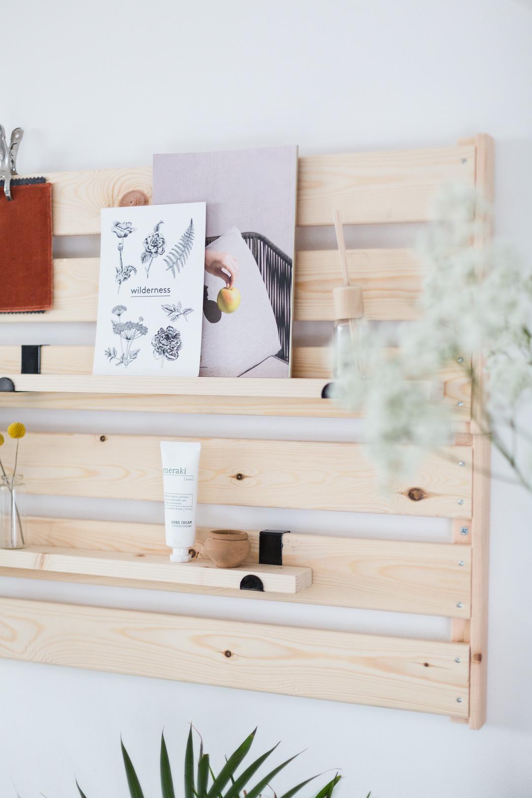 DIY Minimal Shelving IKEA Hack | Fall For DIY