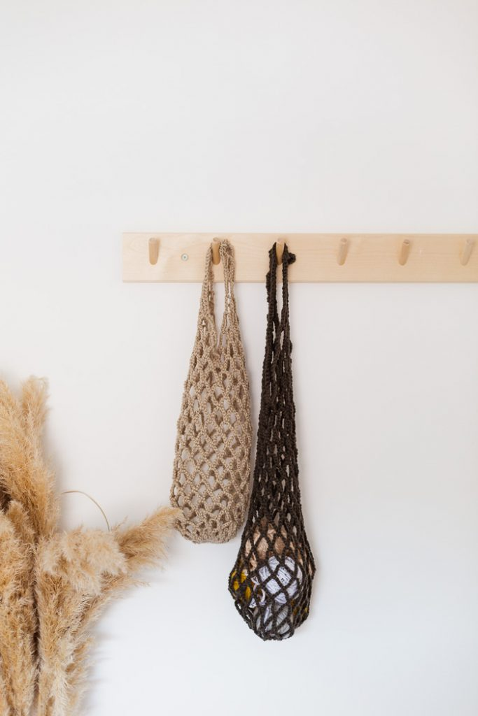 DIY Crochet Net Bag EDITS