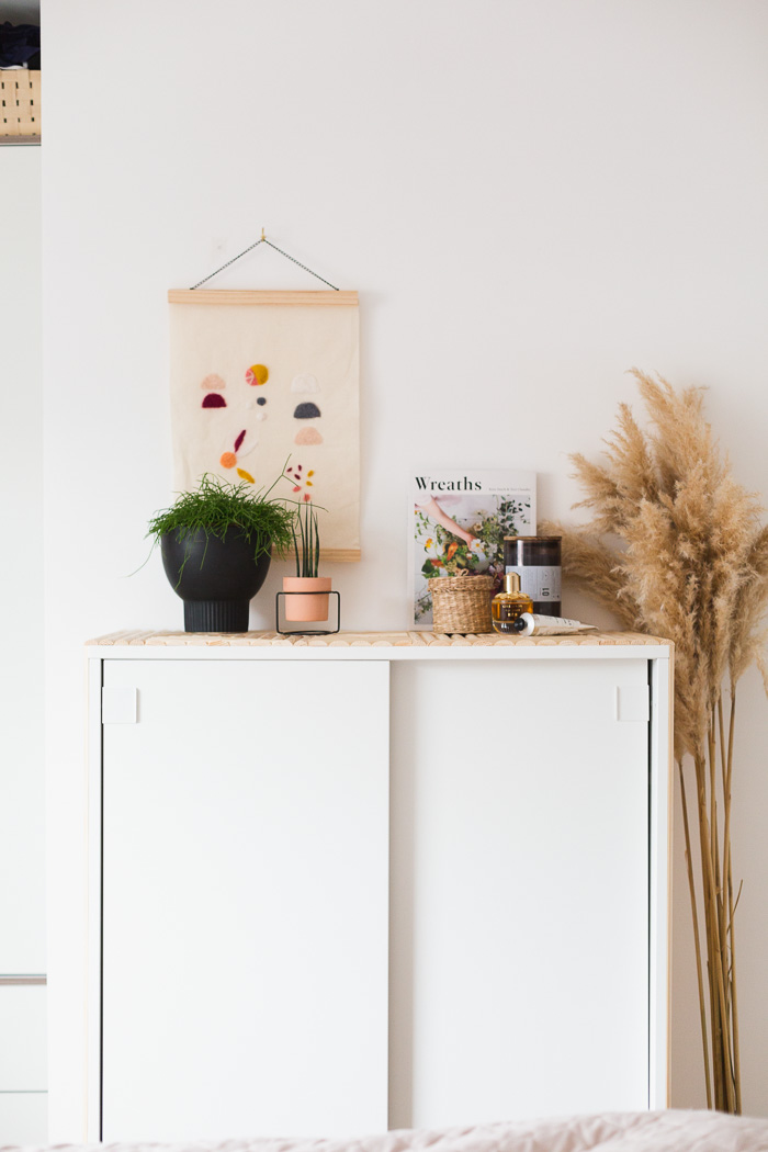 Diy Ikea Decor Hack Update Small Bedroom Storage With Wooden Detail