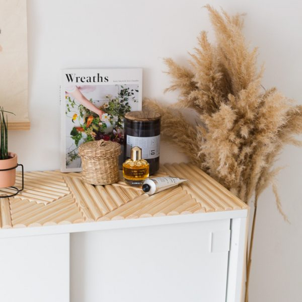 DIY IKEA Decor Hack: Update Small Bedroom Storage with Wooden Detail