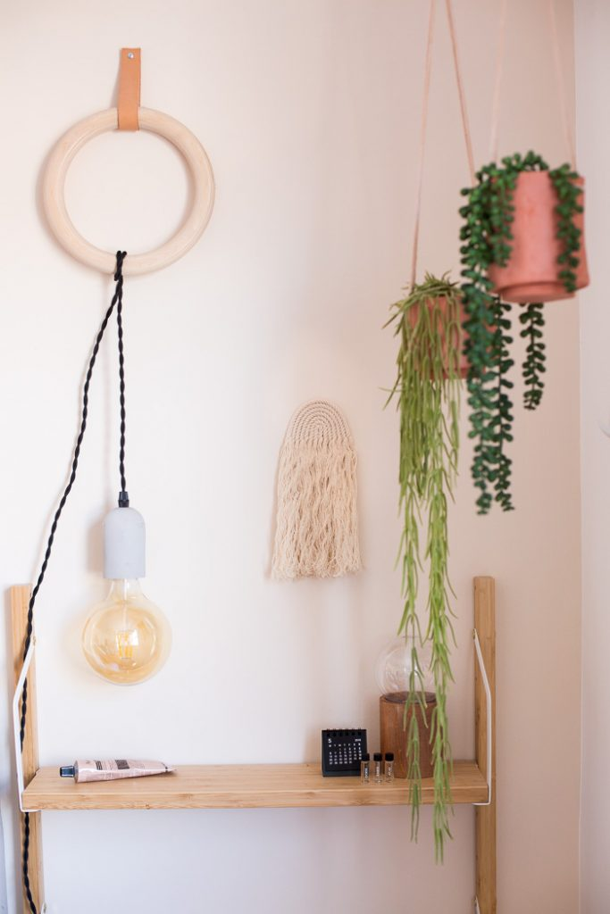 DIY Easy Rope Rainbow Wall Hanging