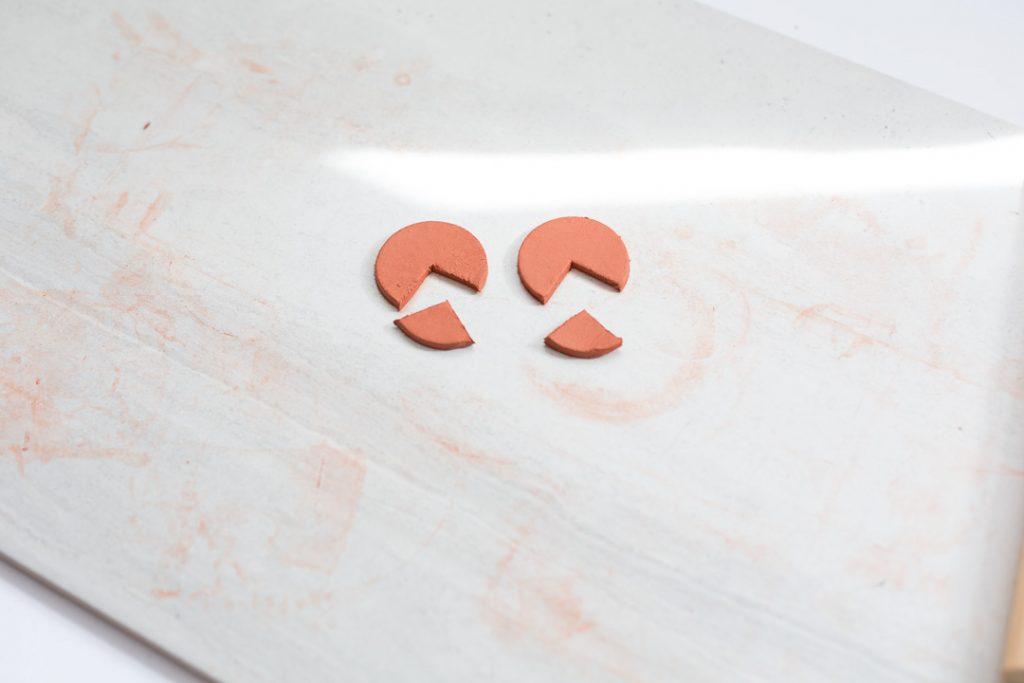 DIY Terracotta Earrings Four Ways