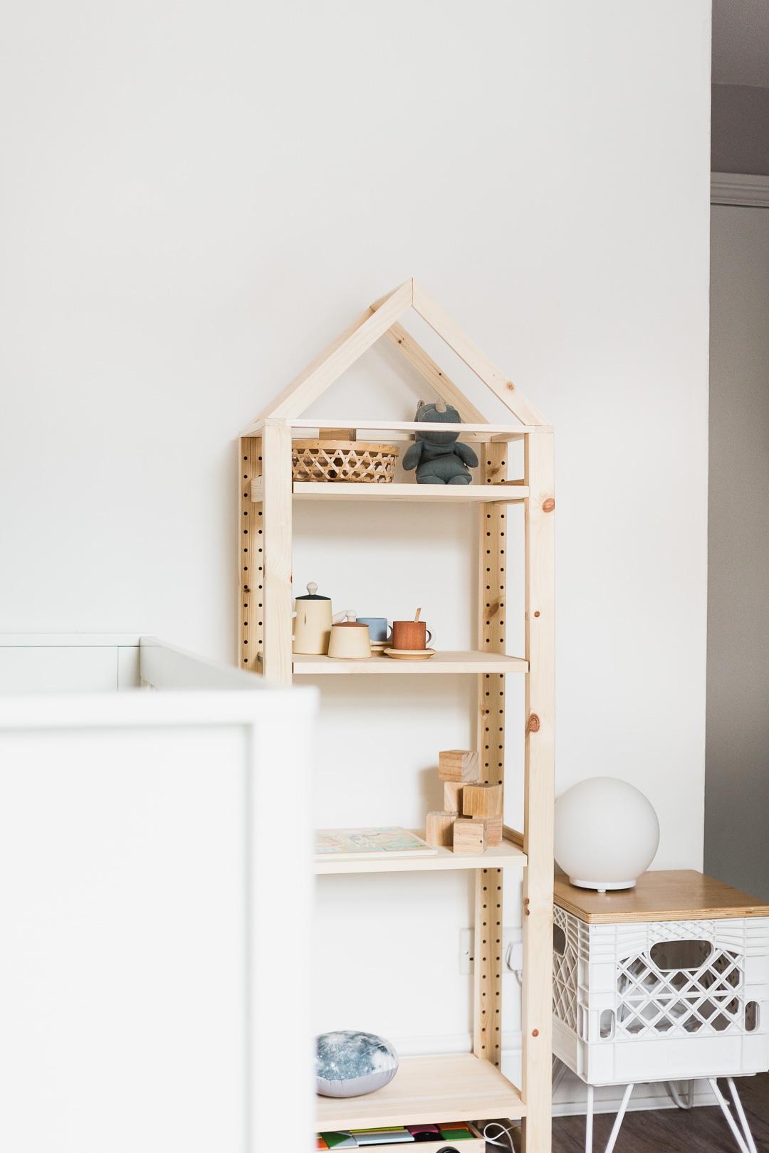 Shelf House Hack Ivar Ikea Fall For Diy