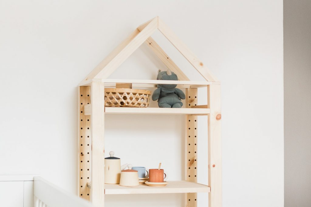 IKEA Hack - IVAR House Shelf-11