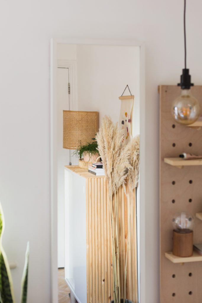 DIY Rattan Lampshade