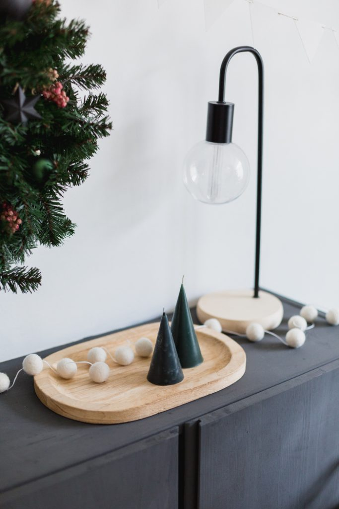 DIY Festive Tree Candles