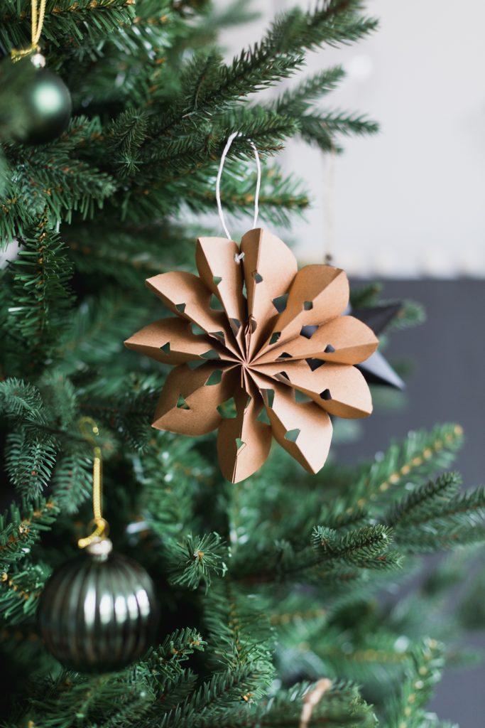 DIY Paper Fan Ornaments